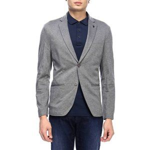 Michael Kors Stretch Sport Coat Jacket Grey